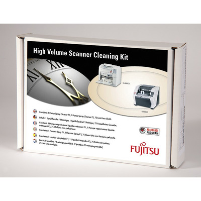 Fujitsu reinigingskit: Scannerreinigingssets voor productie van grote volumes - Multi kleuren