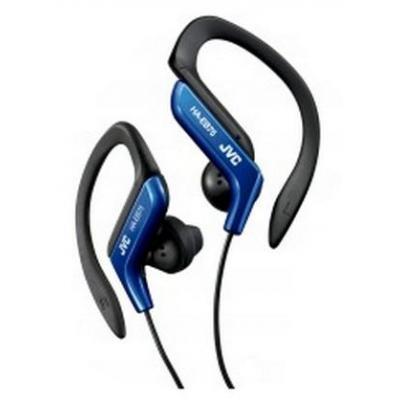 Jvc koptelefoon: Ear clip sporthoofdtelefoon blau-zwart - Zwart, Blauw