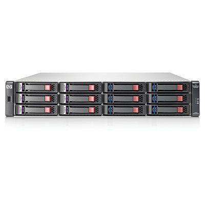 "Hewlett Packard Enterprise HP StorageWorks 2000 Modular Smart Array Dual I/O 8.89 cm (3.5"") 12 Drive Enclosure"