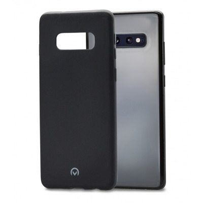 Mobilize Rubber Gelly Case Samsung Galaxy S10e Matt Black Hoes