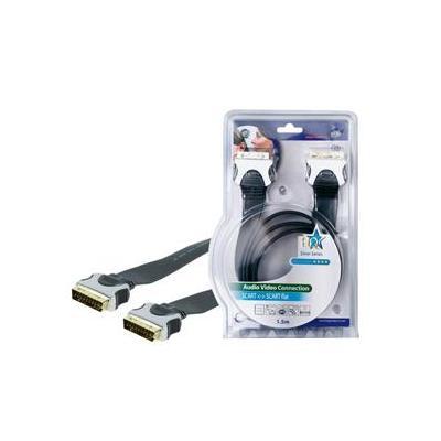 Hq : 1.5m SCART 21-pin - Zwart
