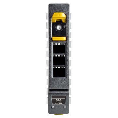 """Hewlett packard enterprise SSD: 3.2TB 2.5"""" 12G SAS - Aluminium, Zwart, Geel"""