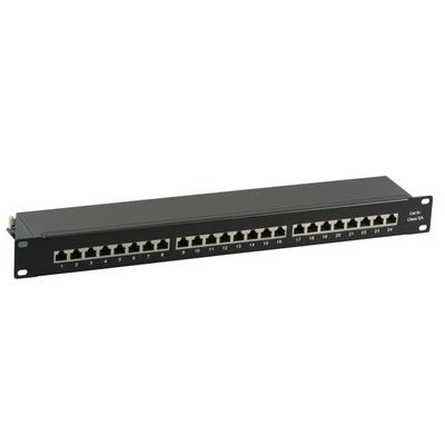 EFB Elektronik 37666SW.1M Patch panel - Zwart
