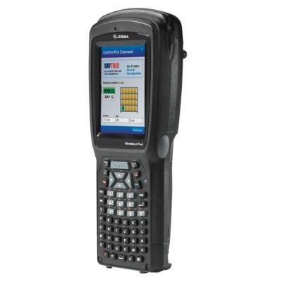 Zebra PDA: WAP4 LONG ALPHA NUM CE 6.0 EN 1D 802.11 - Zwart