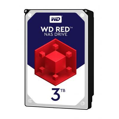 "Western Digital WD Red 3TB 5400rpm 3,5"" SATA Interne harde schijf"