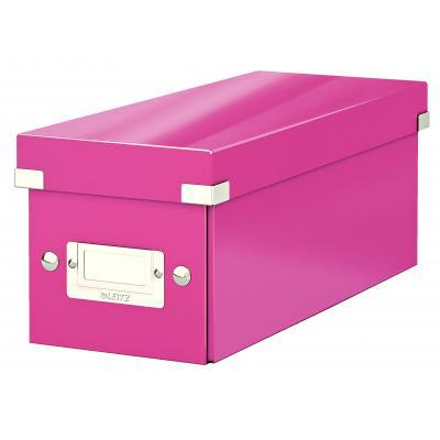 Leitz : Click & Store-cd-opslagbox - Roze