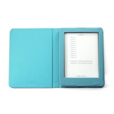 Gecko e-book reader case: Deluxe Cover for Kobo Glo HD, Light Blue - Blauw