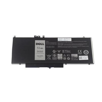 Dell batterij: 51Wh, 4-cell, Li-Po, 7.4V, 6460mAh, Inspiron E5250/E5270/E5450/E5470/E5550/E5570 - Zwart