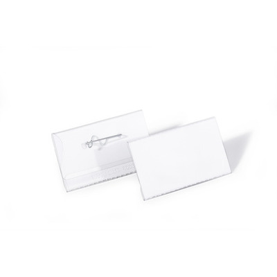 Durable 8008-19 Badge - Transparant