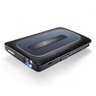 Aiptek beamer: MobileCinema A50P - Zwart