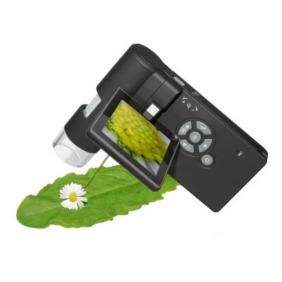 Dnt microscoop accessoire: DigiMicro Mobile - Zwart, Zilver