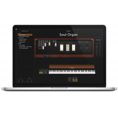 Apple audio software: MainStage 3