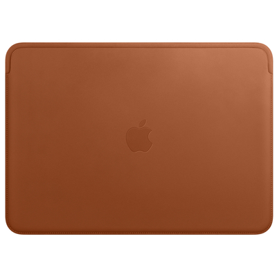 Apple Leather Sleeve for 13-inch MacBook Pro – Saddle Brown Laptoptas