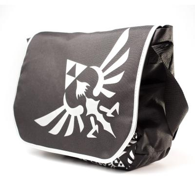 Nintendo game: - Zelda - Schoudertas - Geborduurd Logo