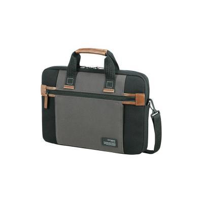 Samsonite laptoptas: Sideways - Zwart, Grijs