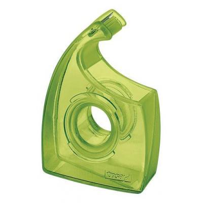 Tesa tape afroller: Easy Cut handdispenser voor rollen tot 33 m / 19 mm, groen