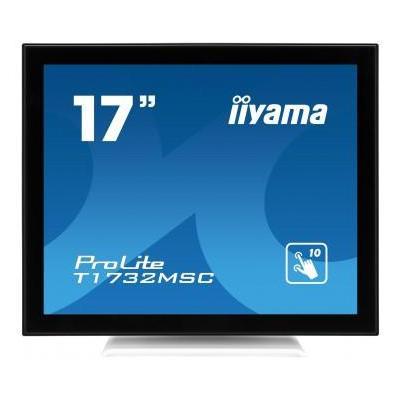 "Iiyama ProLite T1732MSC-W1X - 43.18 cm (17"") , TN LED, 1280 x 1024, 1 000:1, 225 cd/m², 5:4, 2 x 1 W, 5.6 kg ....."