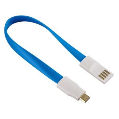 Hama 00136111 USB kabel - Blauw, Wit