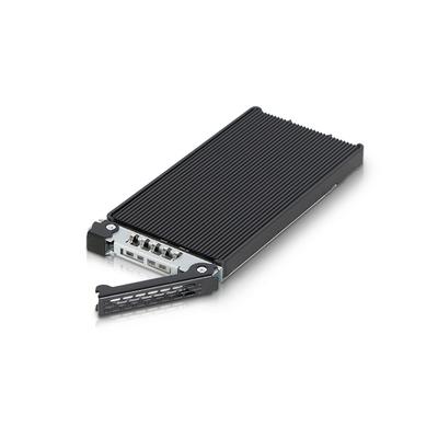 """Icy Dock 2.5"""", NVMe M.2, Black/Aluminium Behuizing - Aluminium,Zwart"""