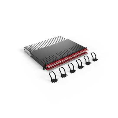 PATCHBOX ® 365 Cat.6a (UTP, Red, 0.8m / 8RU) Netwerkkabel - Rood
