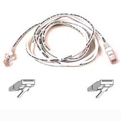 Belkin netwerkkabel: Cable patch CAT5 RJ45 snagless 1m white