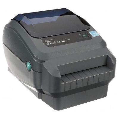 Zebra GX420d DT - USB - Ethernet - Snijsysteem Labelprinter - Grijs