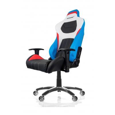 Akracing stoel: 550 x 550 x 1365-1445 mm, 25 kg