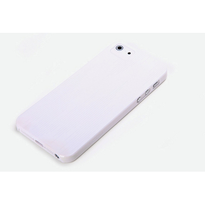 ROCK Texture Ultra Thin Case Apple iPhone 5/5S/SE, White Mobile phone case - Wit