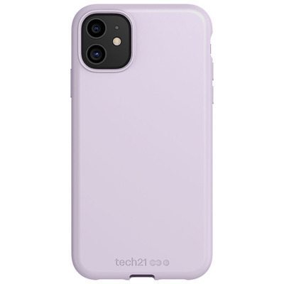 Antimicrobial Backcover iPhone 11 - Mauve Talc - Paars / Purple Mobile phone case