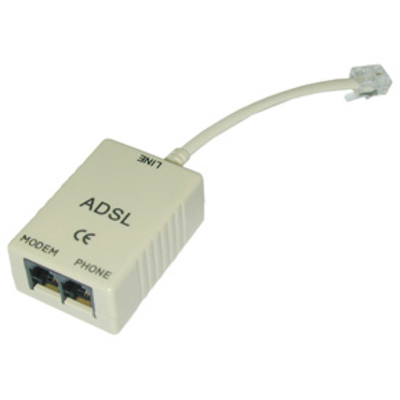 Lindy ADSL-Splitter Netwerk splitter - Grijs