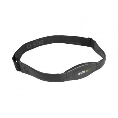 Sbs hartslagmeter: Heart rate chest belt bluettoth V 4.0 , compatible with App for Android and IOS - Zwart