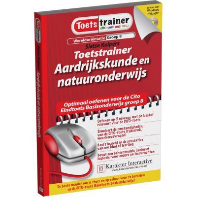 Karakter educatieve software: Toetstrainer Wereldorientatie, Aardrijkskunde, Natuur Onderwijs  (Groep 7 en 8)