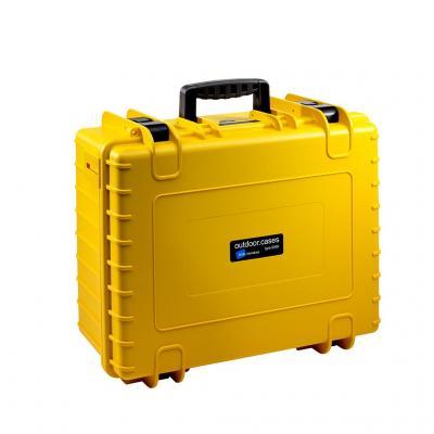 B&w : PP/Foam, 419.1x510.5x215.9mm, 4.3kg, Yellow - Geel