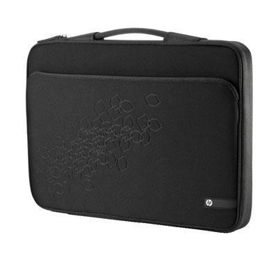 Hp laptoptas: 17.3 inch Black Cherry Notebook Sleeve - Zwart