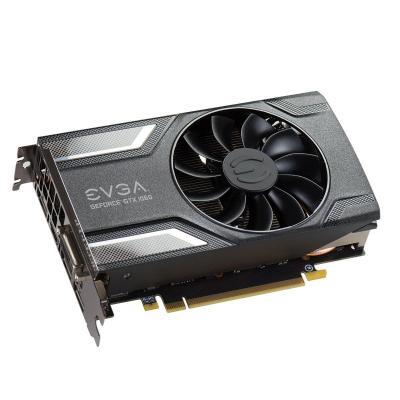 Evga videokaart: GeForce GTX 1060 SC Gaming 6GB - Grijs, Zilver