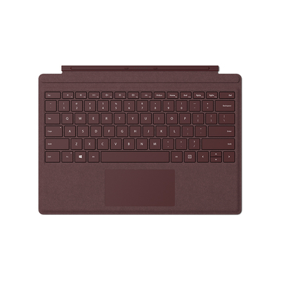 Microsoft Surface Pro Signature Type Cover Mobile device keyboard - Bordeaux rood