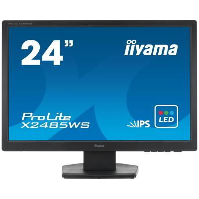 "Iiyama monitor: ProLite X2485WS-B1 24"" WUXGA IPS - Desktop - Zwart"
