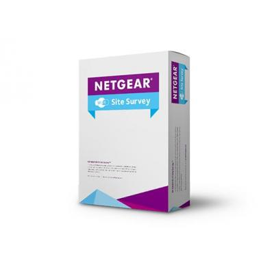 Netgear installatieservice: Professional Wireless Site Survey (Up to 30,000 m2 or 320,000 ft2)