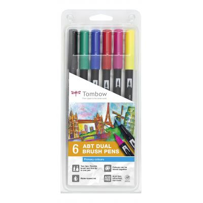 Tombow ABT-6P-1 set - Multi kleuren