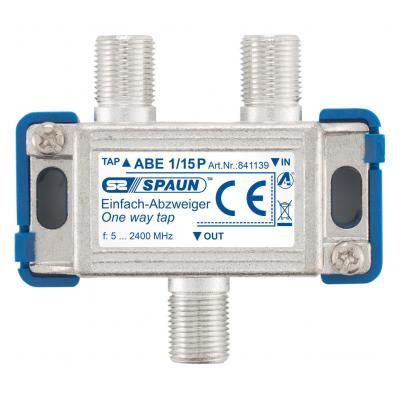Spaun ABE 1/15 P Kabel splitter of combiner - Metallic