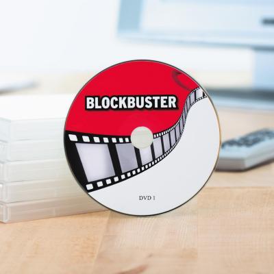 Herma etiket: DVD/Blu-ray labels Maxi A4 Ø 116 mm white film matt 50 pcs. - Wit