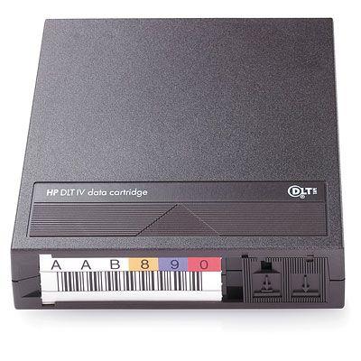 Hewlett Packard Enterprise HP DLTIV Labeled Cartridge 21 pack Datatape - Zwart