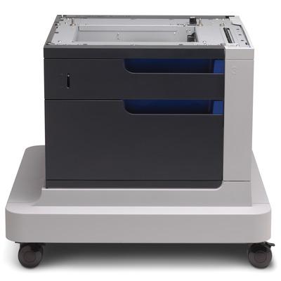 Hp papierlade: LaserJet Color LaserJet papierinvoer en kast voor 500 vel