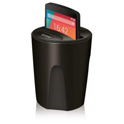 Zens oplader: Qi Wireless Car Charger - Zwart