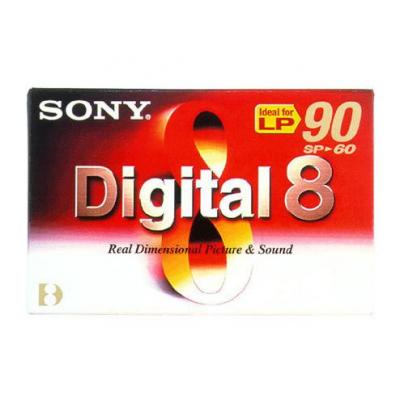 Sony AV casette: N860P2 - Digital 8 Tape Video Media, 60min