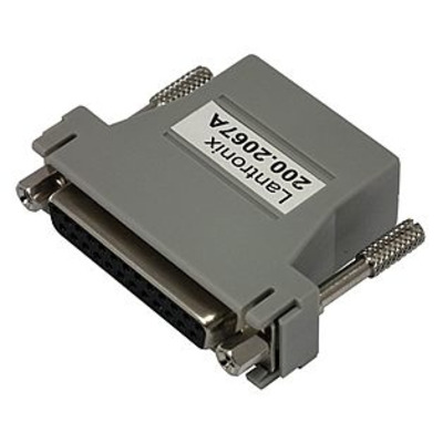 Lantronix RJ45 to DB25F Adapter Sun Panel Adapter for SCS & CS3200 Kabel adapter - Grijs