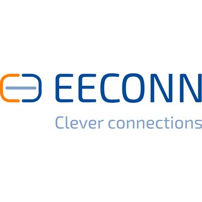 EECONN Netsnoer, Denemarken - C13, 3x 0.75mm², Wit, 1.8m Electriciteitssnoer