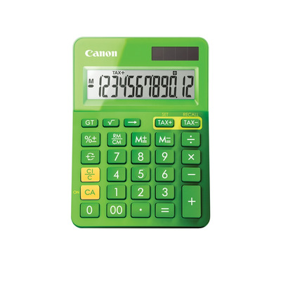 Canon calculator: LS-123k - Groen