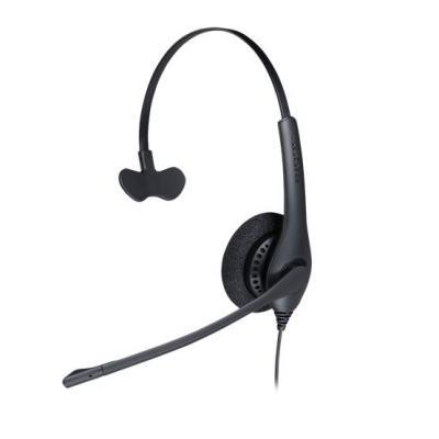 Jabra headset: BIZ 1500 Mono QD - Zwart
