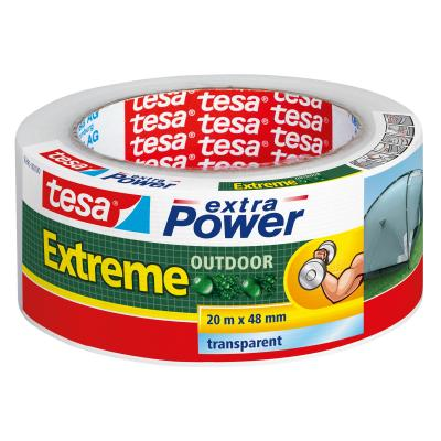 Tesa plakband: extra Power Extreme Outdoor - Transparant